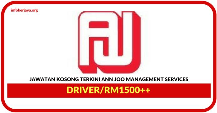 Jawatan Kosong Terkini Driver Di Ann Joo Management Services