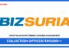 Jawatan Kosong Terkini Collection Officer Di Bizsuria Management