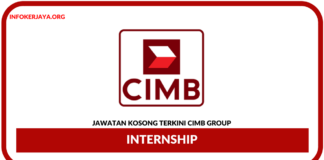 Jawatan Kosong Terkini Internship Di CIMB Group