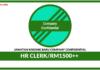 Jawatan Kosong Terkini HR Clerk Di Company Confidential