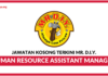 Jawatan Kosong Terkini Human Resource Assistant Manager Di Mr. D.I.Y.