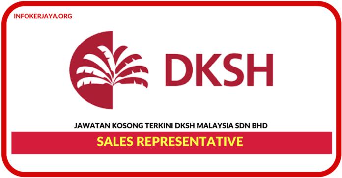 Jawatan Kosong Terkini Sales Representative Di DKSH Malaysia
