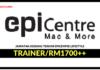 Jawatan Kosong Terkini Trainer Di Epicentre Lifestyle