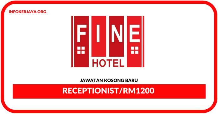 Jawatan Kosong Terkini Receptionist Di Fine Hotel