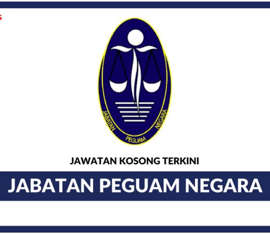 Jawatan Kosong Terkini Jabatan Peguam Negara