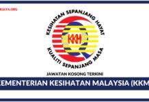 Jawatan Kosong Terkini Kementerian Kesihatan Malaysia (KKM)