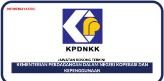 Jawatan Kosong Terkini Kementerian Perdagangan Dalam Negeri Koperasi Dan Kepenggunaan
