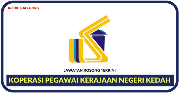Jawatan Kosong Terkini Koperasi Pegawai Kerajaan Negeri Kedah