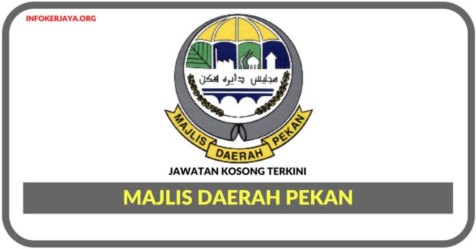 Jawatan Kosong Terkini Majlis Daerah Pekan
