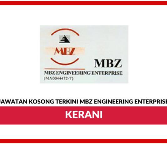 Jawatan Kosong Terkini Clerk Di Mbz Engineering