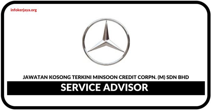 Jawatan Kosong Terkini Service Advisor Di Minsoon