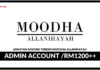 Jawatan Kosong Terkini Admin Account Di Moodha Allanihayah