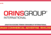 Jawatan Kosong Terkini Human Commercial Advertise Di ORINSGROUP International