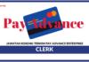 Jawatan Kosong Terkini Clerk Di Pay Advance Enterprise