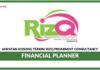 Jawatan Kosong Terkini Financial Planner Di Rizq Prominent Consultancy