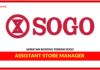 Jawatan Kosong Terkini Assistant Store Manager Di SOGO