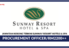 Jawatan Kosong Terkini Procurement Officer Di Sunway Resort Hotels & Spa