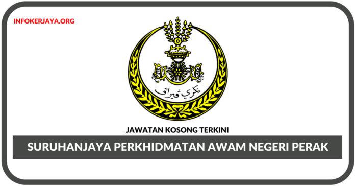 Jawatan Kosong Terkini Suruhanjaya Perkhidmatan Awam Negeri Perak