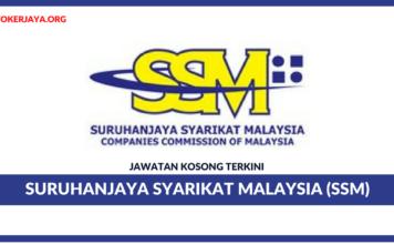 Jawatan Kosong Terkini Suruhanjaya Syarikat Malaysia (SSM)