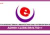 Jawatan Kosong Terkini Admin Clerk Di Urbane Ethos Early Intervention Center
