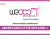 Jawatan Kosong Terkini Admin Executive Di Wedoo