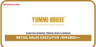 Jawatan Kosong Terkini Retail Sales Executive Di Wijaya Sensasi