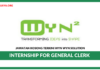 Jawatan Kosong Terkini Internship for General Clerk Di Wyn Wyn Solution