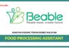 Jawatan Kosong Terkini Food Processing Assistant Di Beable Malaysia