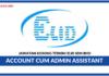 Jawatan Kosong Terkini Account cum Admin Assistant Di Elid Sdn Bhd
