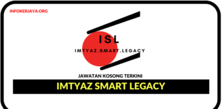 Jawatan Kosong Terkini Cleaner Di Imtyaz Smart Legacy