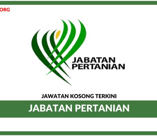 Jawatan Kosong Terkini Jabatan Pertanian