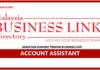 Jawatan Kosong Terkini Account Assistant Di Business Link