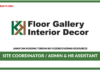 Jawatan Kosong Terkini Site Coordinator / Admin & HR Assistant Di KK Floorcovering Resources
