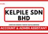 Jawatan Kosong Terkini Account & Admin Assistant Di Kelpile