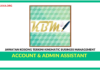Jawatan Kosong Terkini Account & Admin Assistant Di Kinematic Business Management