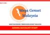 Jawatan Kosong Terkini Admin/Account Staff Di Mega Genset Malaysia