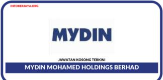 Jawatan Kosong Terkini Mydin Mohamed Holdings