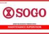 Jawatan Kosong Terkini Maintenance Supervisor Di SOGO