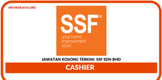 Jawatan Kosong Terkini SSF Sdn Bhd