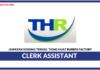 Jawatan Kosong Terkini Clerk Assistant Di Tiong Huat Rubber Factory
