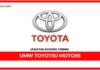 Jawatan Kosong Terkini UMW Toyotsu Motors