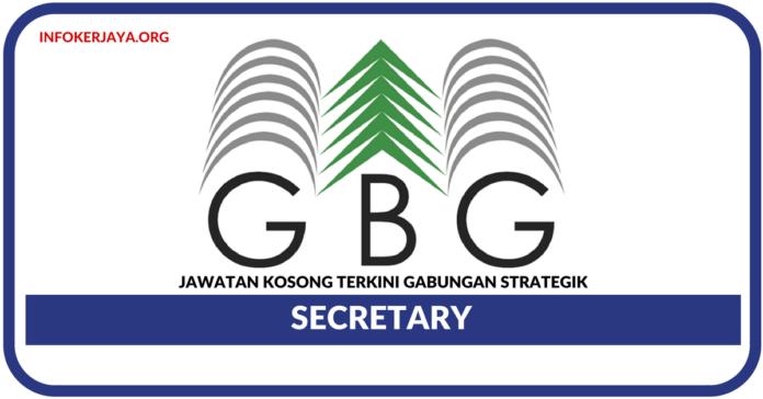 Jawatan Kosong Terkini Secretary Di Gabungan Strategik