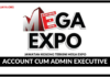 Jawatan Kosong Terkini Account Cum Admin Executive Di Mega Expo