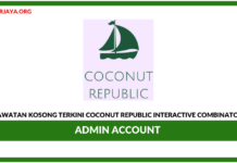 Jawatan Kosong Terkini Admin Account Di Coconut Republic Interactive Combinator