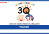 Jawatan Kosong Terkini Teacher Di 3Q MRC Junior