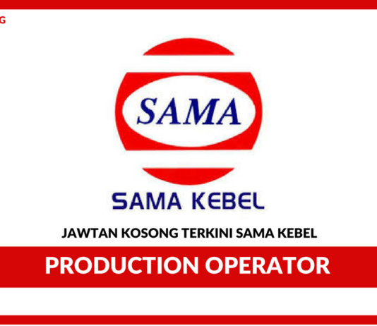 Jawtan Kosong Terkini Production Operator Di Sama Kebel