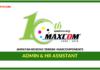 Jawatan Kosong Terkini Admin & HR Assistant Di Maxcomponents