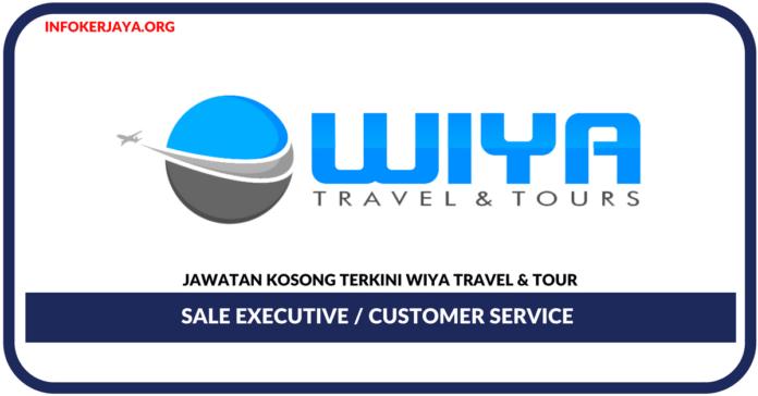 Jawatan Kosong Terkini Sale Executive / Customer Service Di Wiya Travel & Tour
